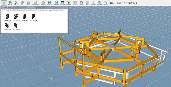 Logiciels de construction 3D