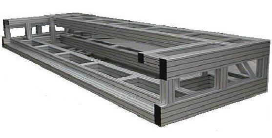 Profiles aluminium MAYTEC